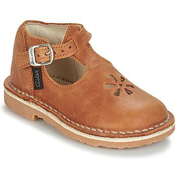 Čevlji  Otroci Balerinke Aster BIMBO Cognac
