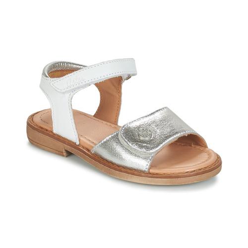 Čevlji  Deklice Sandali & Odprti čevlji Aster TRIXY Srebrna