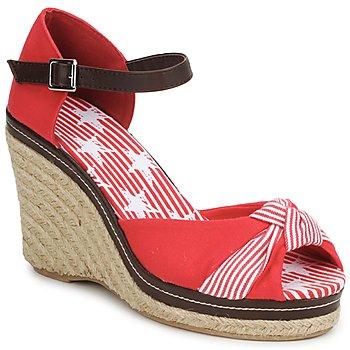 Čevlji  Ženske Sandali & Odprti čevlji StylistClick PATTY Rdeča