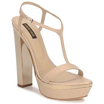Čevlji  Ženske Sandali & Odprti čevlji Roberto Cavalli RDS735 Bež / Nude