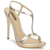 Čevlji  Ženske Sandali & Odprti čevlji Roberto Cavalli RDS736 Zlata