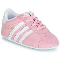 Čevlji  Otroci Nizke superge adidas Originals GAZELLE CRIB Rožnata