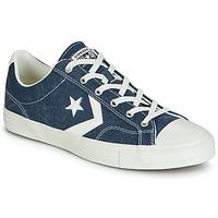 Čevlji  Moški Nizke superge Converse STAR PLAYER SUN BACKED OX Modra