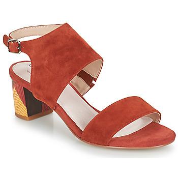 Čevlji  Ženske Sandali & Odprti čevlji Metamorf'Ose EMBARQUA Rdeča