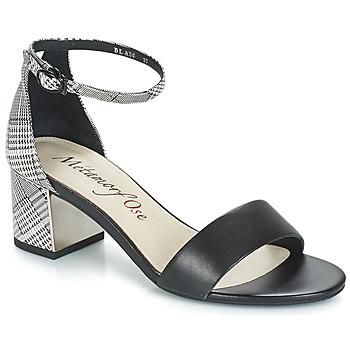 Čevlji  Ženske Sandali & Odprti čevlji Metamorf'Ose EMBRASA Črna