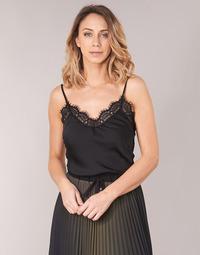 Oblačila Ženske Topi & Bluze Ikks BN11105-02 Črna