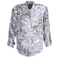 Oblačila Ženske Srajce & Bluze Ikks BN12085-11 Bela / Črna