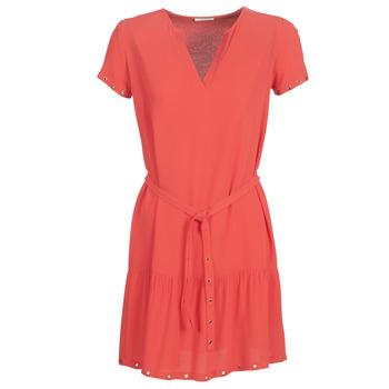 Oblačila Ženske Kratke obleke Ikks BN30115-35 Koralna / Rožnata