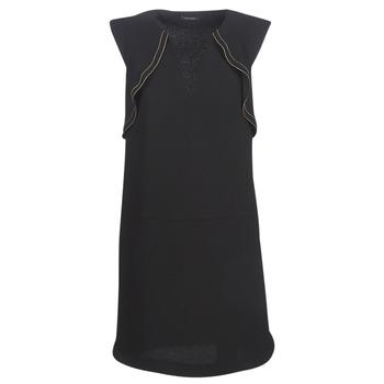 Oblačila Ženske Kratke obleke Ikks BN31075-02 Črna
