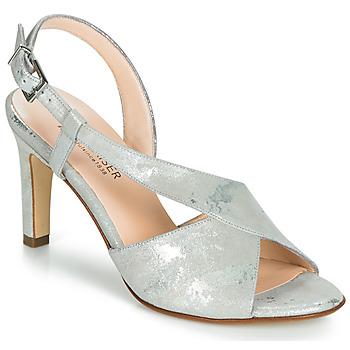 Čevlji  Ženske Sandali & Odprti čevlji Peter Kaiser OPRAH Srebrna