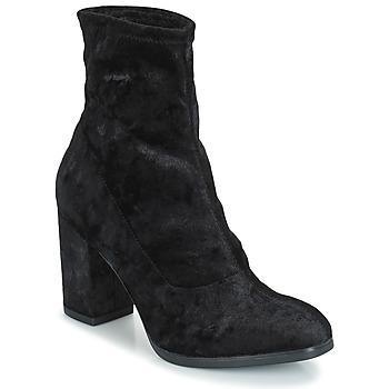Čevlji  Ženske Gležnjarji Caprice  Črna / Velvet