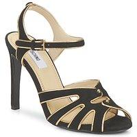 Čevlji  Ženske Sandali & Odprti čevlji Moschino MA1604 000-črna