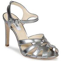 Čevlji  Ženske Sandali & Odprti čevlji Moschino MA1604 Srebrna