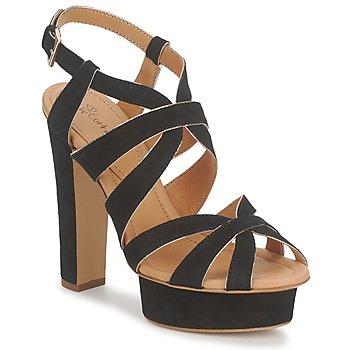 Čevlji  Ženske Sandali & Odprti čevlji Eva Turner LIVIA Črna
