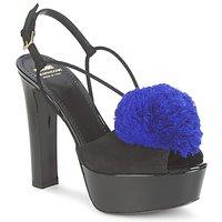 Čevlji  Ženske Sandali & Odprti čevlji Moschino Cheap & CHIC CA1608 Ooc-črna-modra