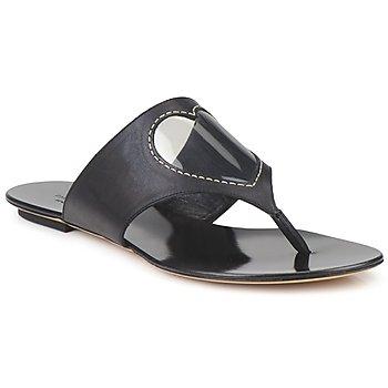 Čevlji  Ženske Japonke Moschino Cheap & CHIC CALOTROPIS Črna