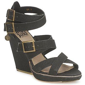 Čevlji  Ženske Sandali & Odprti čevlji Feud WASP Črna
