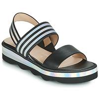 Čevlji  Ženske Sandali & Odprti čevlji Wonders BOLETTI Črna