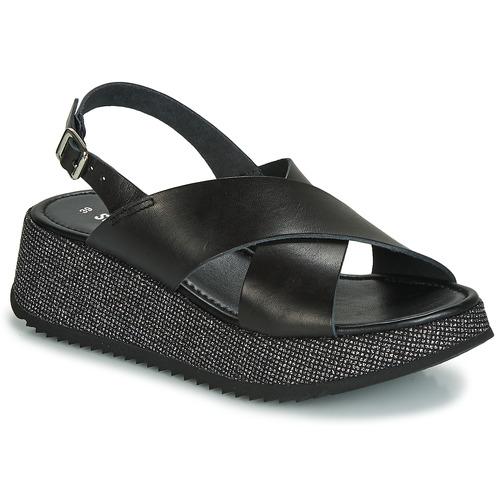 Čevlji  Ženske Sandali & Odprti čevlji Sweet Lemon LILAR Črna