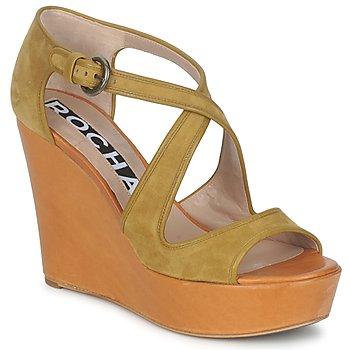Čevlji  Ženske Sandali & Odprti čevlji Rochas RO18131 Kostanjeva