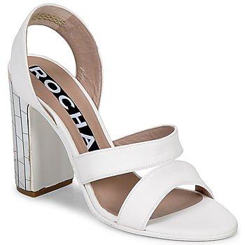 Čevlji  Ženske Sandali & Odprti čevlji Rochas RO18244 Bela