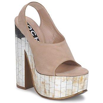 Čevlji  Ženske Sandali & Odprti čevlji Rochas RO18175 Tabac