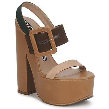 Čevlji  Ženske Sandali & Odprti čevlji Rochas RO18231 Rjava / Bež