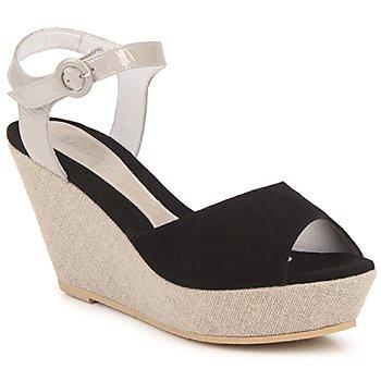 Čevlji  Ženske Sandali & Odprti čevlji Regard RAFATI Črna