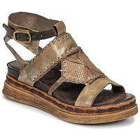 Čevlji  Ženske Sandali & Odprti čevlji Airstep / A.S.98 LAGOS Pozlačena
