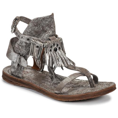 Čevlji  Ženske Sandali & Odprti čevlji Airstep / A.S.98 RAMOS Srebrna