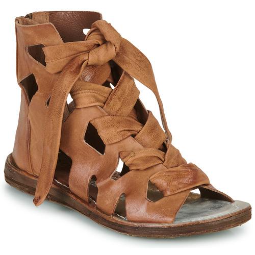 Čevlji  Ženske Sandali & Odprti čevlji Airstep / A.S.98 RAMOS LACES Kamel