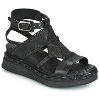 Čevlji  Ženske Sandali & Odprti čevlji Airstep / A.S.98 LAGOS Črna