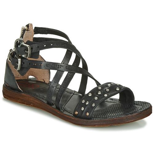 Čevlji  Ženske Sandali & Odprti čevlji Airstep / A.S.98 RAMOS CLOU Črna