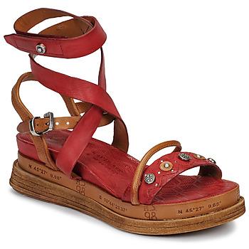 Čevlji  Ženske Sandali & Odprti čevlji Airstep / A.S.98 LAGOS Rdeča