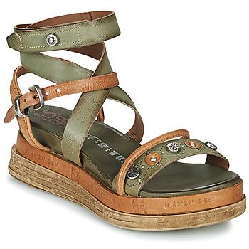 Čevlji  Ženske Sandali & Odprti čevlji Airstep / A.S.98 LAGOS Kaki