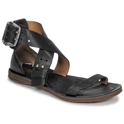 Čevlji  Ženske Sandali & Odprti čevlji Airstep / A.S.98 RAMOS CROISE Črna