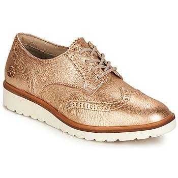 Čevlji  Ženske Čevlji Derby Timberland ELLIS STREET OXFORD Rožnata / Zlata
