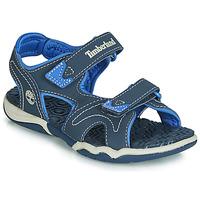 Čevlji  Otroci Sandali & Odprti čevlji Timberland ADVENTURE SEEKER 2 STRAP Modra