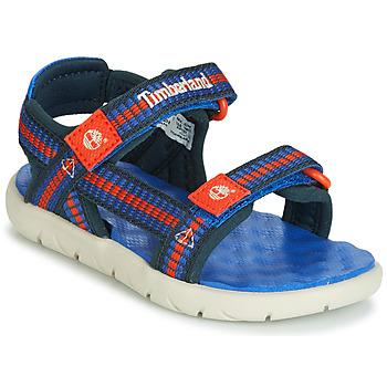 Čevlji  Otroci Sandali & Odprti čevlji Timberland PERKINS ROW WEBBING SNDL Modra