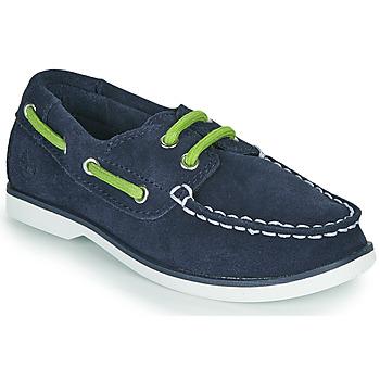 Čevlji  Otroci Mokasini & Jadralni čevlji Timberland SEABURY CLASSIC 2EYE BOAT Črna