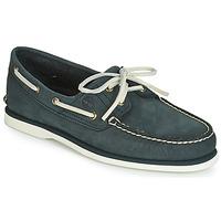 Čevlji  Moški Mokasini & Jadralni čevlji Timberland CLASSIC BOAT 2 EYE Siva