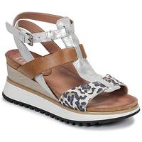 Čevlji  Ženske Sandali & Odprti čevlji Mjus TARDE Kamel