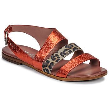 Čevlji  Ženske Sandali & Odprti čevlji Mjus CHAT BUCKLE Rdeča