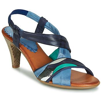 Čevlji  Ženske Sandali & Odprti čevlji Betty London POULOI Modra / Zelena