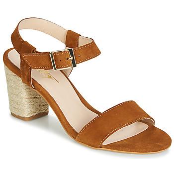 Čevlji  Ženske Sandali & Odprti čevlji Betty London JIKOTIFE Kamel