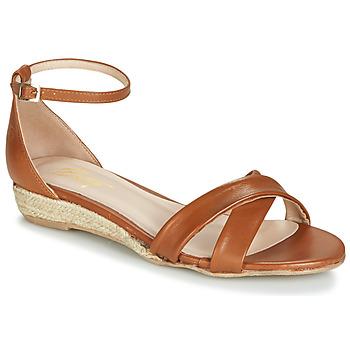 Čevlji  Ženske Sandali & Odprti čevlji Betty London JIKOTIVE Kamel