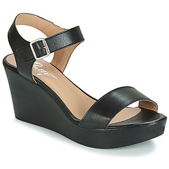 Čevlji  Ženske Sandali & Odprti čevlji Betty London CHARLOTA Črna