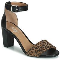Čevlji  Ženske Sandali & Odprti čevlji Betty London CRETOLIA Črna