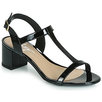 Čevlji  Ženske Sandali & Odprti čevlji Betty London CREPE Črna