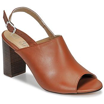 Čevlji  Ženske Sandali & Odprti čevlji Betty London JIKOTEGE Kamel